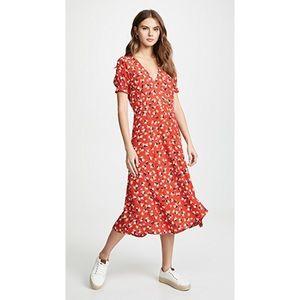 Faithfull The Brand Ari Midi Dress